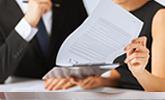 advocaat met cliënt schadeclaim bespreken