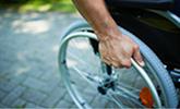 letselschade slachtoffer in rolstoel na ongeval